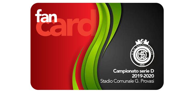 Castellanzese Calcio Abbonamento FAN Card stagione 2019-2020