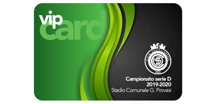 Castellanzese Calcio Abbonamento VIP Card stagione 2019-2020