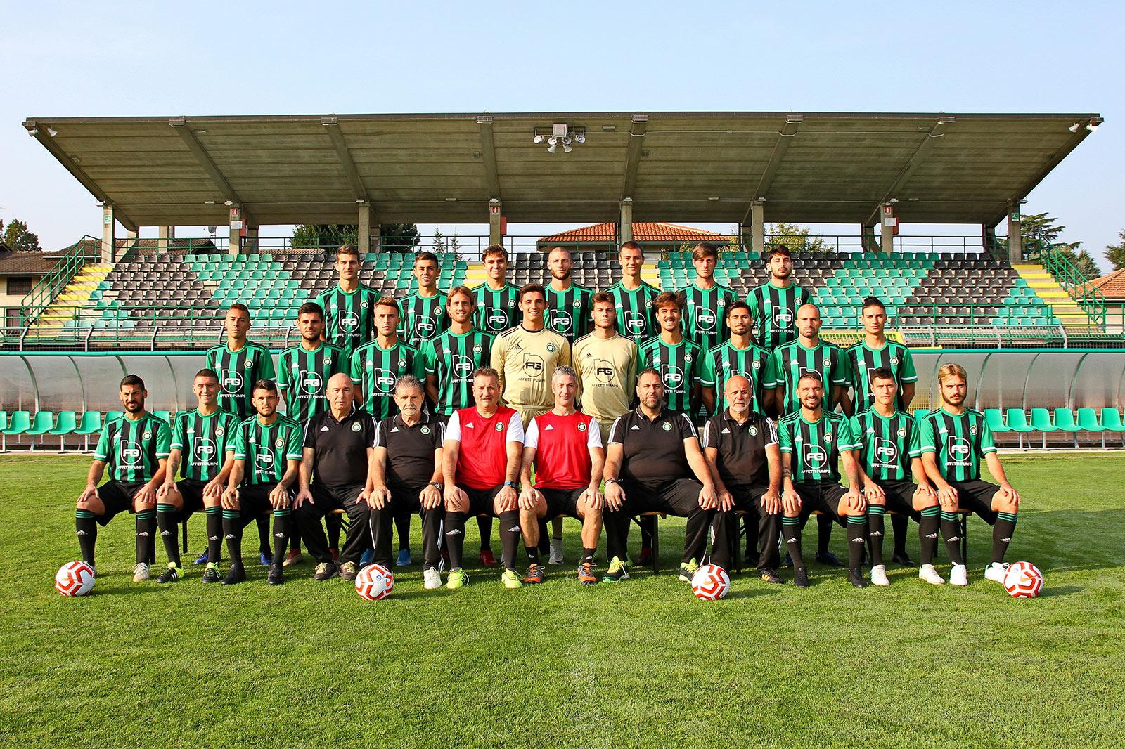 Prima squadra Castellanzese Calcio 2019-2020 serieD